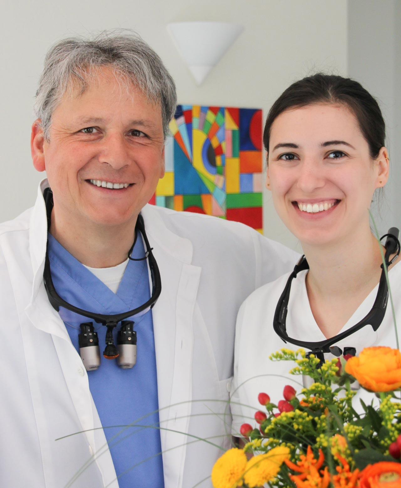 Dr. W. Noethlichs und ZÄ Sophie Noethlichs